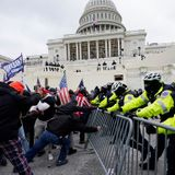 Navy investigators found contractor in Capitol riot was known as a white supremacist