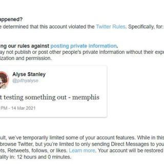 """Bizarre Twitter Issue Temporarily Suspends Users for Saying """"Memphis"""""""