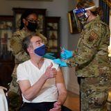 Virginia governor, first lady receive Johnson & Johnson COVID-19 vaccine Monday