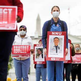 OSHA Probing Health Worker Deaths But Urges Inspectors To Spare The Penalties
