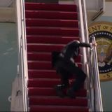 President Biden doing fine after stumbling while boarding Air Force One, White House says