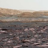 Mars's crust may have sucked up most of the planet's water