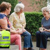 Police give grandmother warning after she had TEA with a neighbour