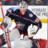 Blue Jackets sign G Elvis Merzlikins to two-year contract extension