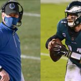 Frank Reich: Colts planned to draft franchise QB before Carson Wentz 'fell into our laps'