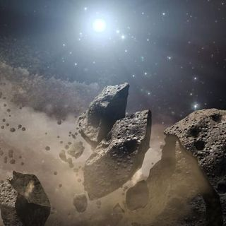 Space-launched missiles are the best protection from asteroids, astronomer says