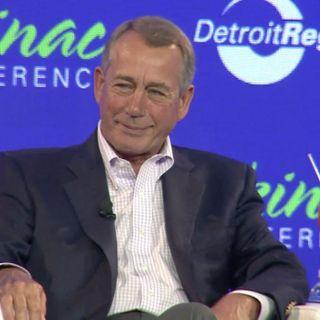 "John Boehner to back ""traitor"" Anthony Gonzalez in defiance of vengeful Donald Trump"