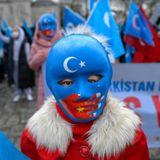 Hundreds of Uyghurs protest Chinese minister's Turkey visit
