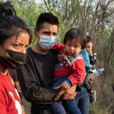 Family groups crossing border in soaring numbers point to next phase of crisis