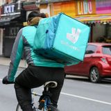 Amazon-backed Deliveroo tanks in London market debut