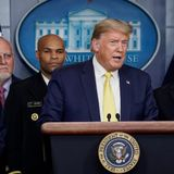 Trump to scale back coronavirus press conferences after disinfectant comment: report