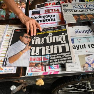 Are some things better left unsaid? Media self-censorship in Thailand