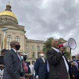 Pressure mounts on corporations to denounce GOP voting bills