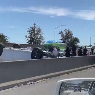 16-year-old boy killed in crash amid Armenian Genocide anniversary caravan on 10 Freeway in Jefferson Park