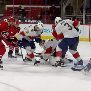 Video Review: FLA @ CAR - 14:34 of the Second Period