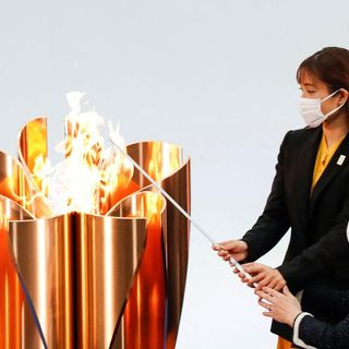 Osaka takes Olympic torch relay off public roads as it declares state of emergency amid Covid-19 surge