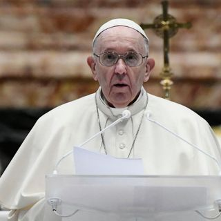 In Easter Message, Pope Francis Urges Broad Access To Vaccines And An End To Conflicts