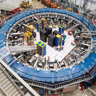 Subatomic particles called muons may defy physics' standard model