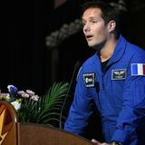 French astronaut warns against free-for-all military space race