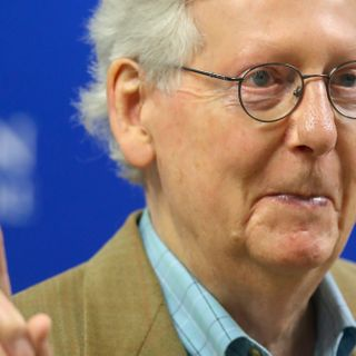 Mitch McConnell pulls back on warning for corporations to stay out of politics