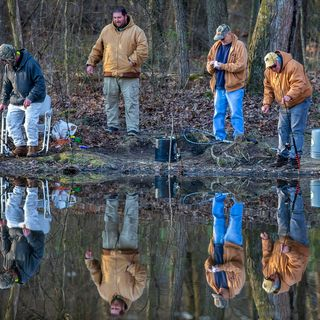 Pennsylvania trout fishing season opens: photos