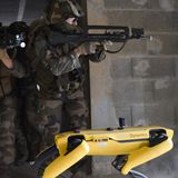 The French army is testing Boston Dynamics' robot dog Spot in combat scenarios