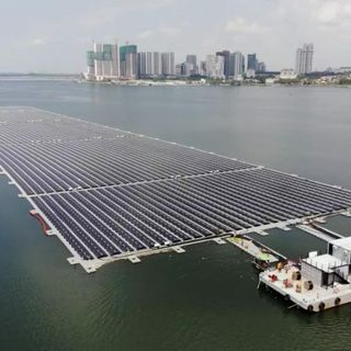 Singapore now home to one of the world's largest floating solar farms