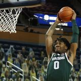 Michigan State basketball's Aaron Henry testing NBA draft process for second straight year