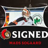 Senators sign goaltender Mads Sogaard to three-year, entry-level contract