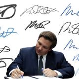 DeSantis wants voters' signatures to match. Would his pass the test?
