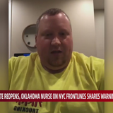 Oklahoma nurse fighting on NYC frontlines urging Oklahoma to stay home