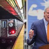 De Blasio slams MTA for 'discouraging' ridership with survey release