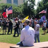 More Than 100 People Rally Against COVID-19 Restrictions Outside Frisco City Hall