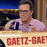 Colbert: The Afghanistan war is so old it can't even date Matt Gaetz