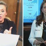 Republican Ohio Senate candidate Melissa Ackison compares Amy Acton to Nazi doctor