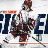 RELEASE: Oilers sign Holloway to entry-level contract