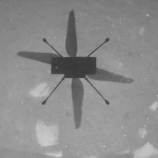 NASA has flown its Ingenuity drone helicopter on Mars for the first time