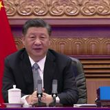 """China's Xi """"welcomes U.S. return"""" to working with world on climate, thanks Biden"""