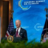 Biden makes the economic case for fighting climate change on second day of virtual summit