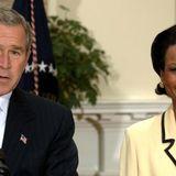 Bush says he wrote in Condoleezza Rice for president in 2020