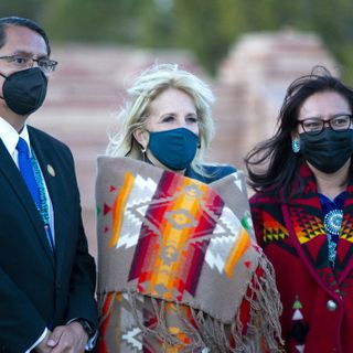 Jill Biden tours the Navajo capital as leaders push for a recovery from the pandemic