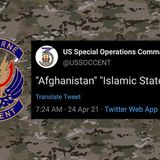 U.S. Special Operations Command Central Claims Twitter Account Was Hacked - The Debrief