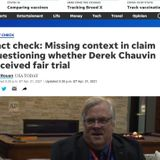 Facebook Throttles Article Arguing Chauvin Verdict Was Tainted By Politics