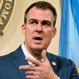 Oklahoma governor signs near-total abortion ban into law