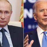 White House hammering out details of increasingly likely Biden and Putin summit