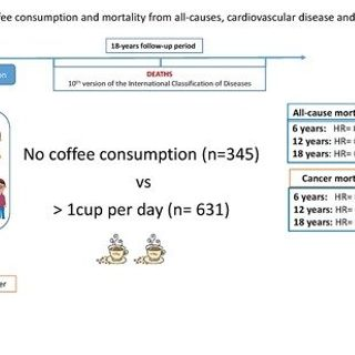 Coffee Consumption and All-Cause, Cardiovascular, and Cancer Mortality in an Adult Mediterranean Population