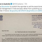 COVID-19 crisis: Govt. issues rejoinder to Australian paper for scathing article