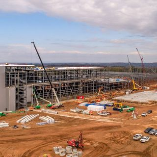A green tech battery plant is transforming a deep-red part of Georgia