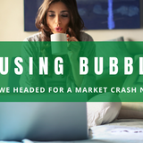 Are we headed for a housing market crash? A look at past housing bubbles and future trends.