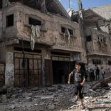 Israel Launches New Strikes As Gaza Conflict Enters Week 2